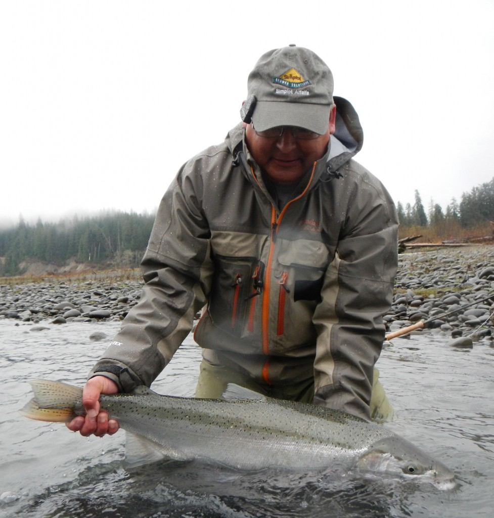 Some left over winter steelhead pics