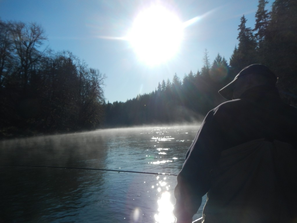 Dangerous freaky river mist.