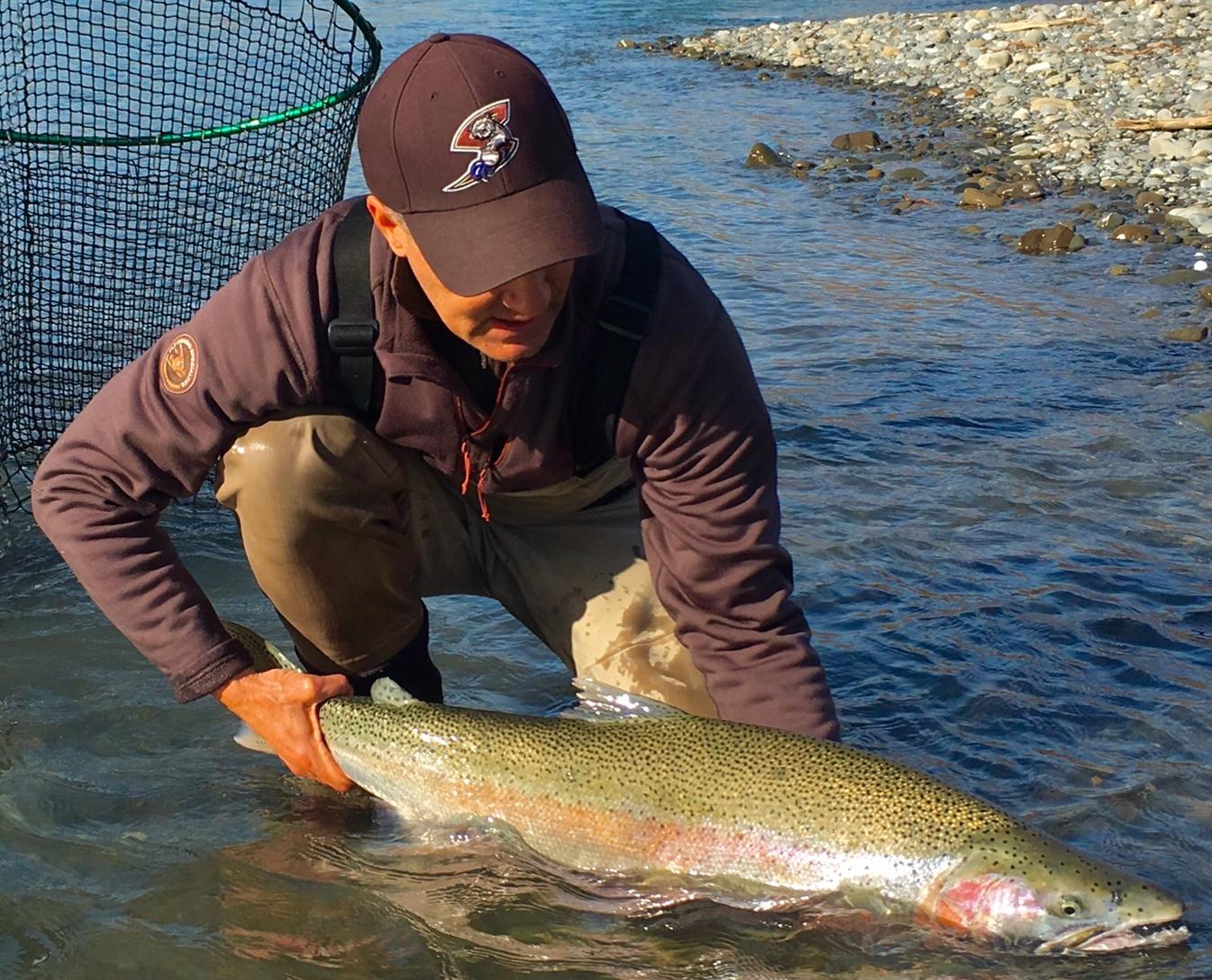 Northwest washington river fly fishing report for Washington river fishing reports