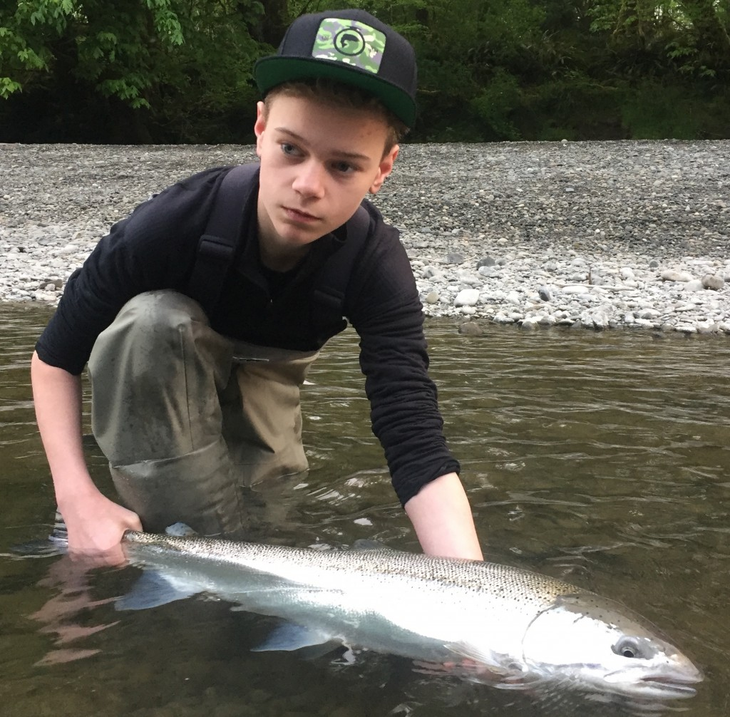 Turns out there are still a few chrome steelhead around