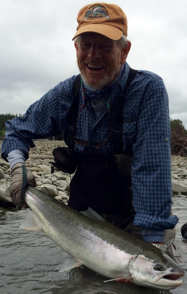 A summer steelhead like this should make anyone smile