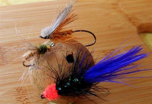 Flies for fly fishing steelhead, salmon, trout